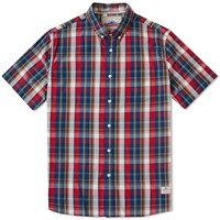 Penfield Rico Short Sleeve Shirt Red