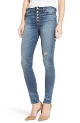 Hudson Jeans Women's Ciara High Rise Distressed Skinny