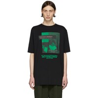 Haider Ackermann Black Unfortunate Coincidence T Shirt