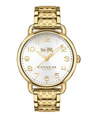 Coach Delancey Goldtone Stainless Steel Watch 14502496