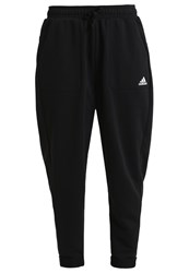 Adidas Performance Essentials Tracksuit Bottoms Black White
