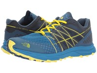 The North Face Ultra Vertical Seaport Blue Acid Yellow Men's Shoes