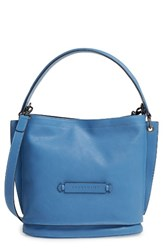 Longchamp '3D' Leather Crossbody Hobo