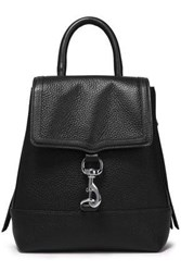 Rebecca Minkoff Woman Textured Leather Backpack Black