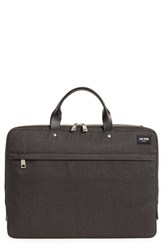 Jack Spade Men's 'Tech Oxford' Slim Laptop Briefcase Grey Charcoal