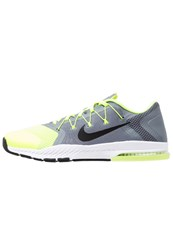 Nike Performance Train Complete Sports Shoes Cool Grey Black Volt White