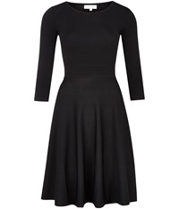 Austin Reed Black Knitted Dress Black