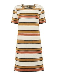 Dickins And Jones Striped Shift Dress Multi Coloured