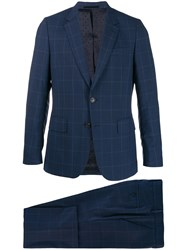 Paul Smith Checked Formal Suit 60