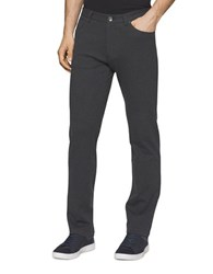 Calvin Klein Slim Fit Heather Knit Pants Gunmetal Heather