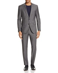 Hugo Twill Solid Regular Fit Suit Charcoal