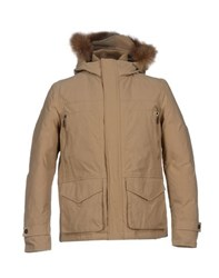 Add Coats And Jackets Down Jackets Men Khaki
