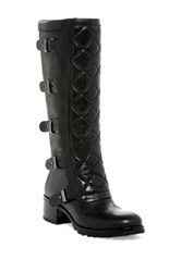 Marc By Marc Jacobs Quilted Heel Boot Black