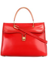 Olympia Le Tan Classic Tote Red