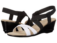 Vivanz Candice Black White Women's Dress Sandals