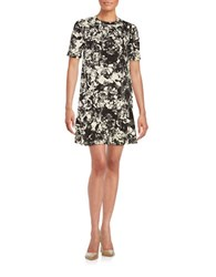 Essentiel Monochrome Shift Dress