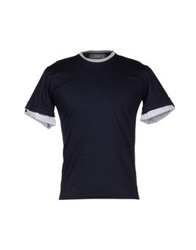 Vneck T Shirts Dark Blue