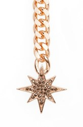 Rebecca Minkoff Women's Stargazing Y Necklace Rose Gold
