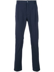 Hackett Tailored Trousers Blue