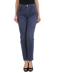 Monocrom Casual Pants Slate Blue