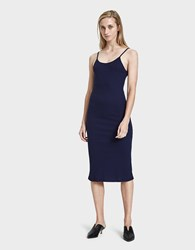 Which We Want Pamela Dress Navy