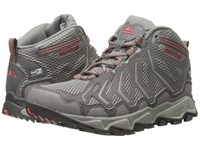 Montrail Trans Alps Mid Outdry Light Grey Wild Melon Women's Shoes Gray