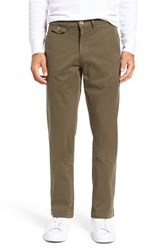 Vintage Men's 1946 'Sunny' Stretch Twill Chinos Loden