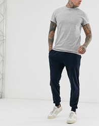 French Connection Jersey Joggers Blue