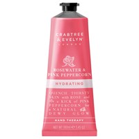 Crabtree And Evelyn Rosewater Pink Peppercorn Hydrating Hand Therapy 100Ml