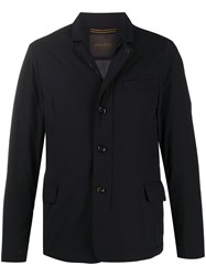 Moorer Button Down Fitted Coat 60