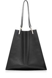 Victoria Beckham Calf Leather Shopper Black