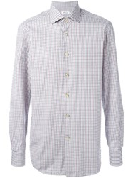 Kiton Checked Shirt Multicolour