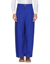 Byblos Casual Pants Bright Blue