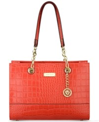 Anne Klein Coast Is Clear Small Chain Tote Poppy