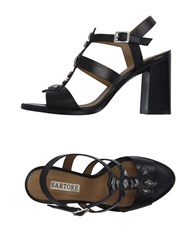 Sartore Footwear Sandals Women Black