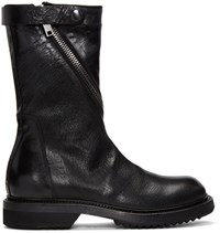 Rick Owens Black Limo Boots