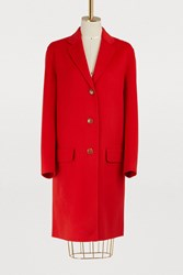 Sofie D'hoore Cashmere And Wool Coat Poppy