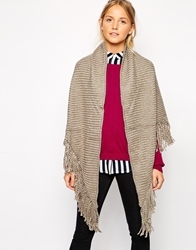 Pieces Fay Triangle Wrap Scarf Lightsand