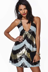 Nasty Gal Party Doll Sequin Dress