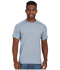 Royal Robbins Dri Release Crew Twilight Men's Short Sleeve Pullover Blue