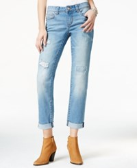 American Rag Ripped Cuffed Kaci Wash Boyfriend Jeans Only At Macy's