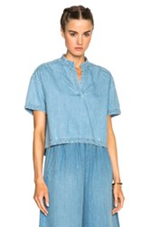Rachel Comey Gabe Top In Blue