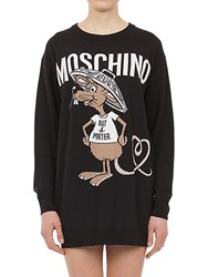 Moschino Intarsia Maxi Knit Dress