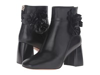 Tory Burch Blossom 70Mm Bootie Black Women's Boots
