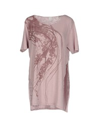 North Sails T Shirts Pastel Pink