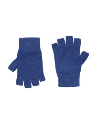 Paolo Pecora Gloves Blue