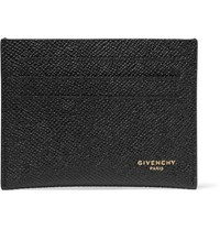 Givenchy Eros Pebble Grain Leather Cardholder Black