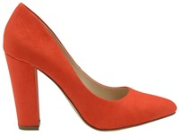 Ravel Hazelton Block Heeled Shoes Red