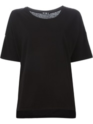 Blk Dnm Round Neck T Shirt Black