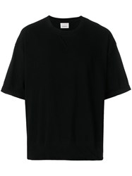 Laneus Relaxed Fit T Shirt Black